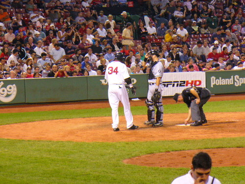 Papi Steps to the Plate