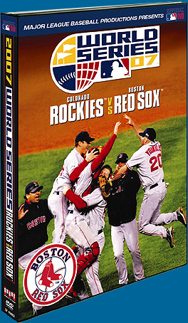 2007 Red Sox World Series DVD