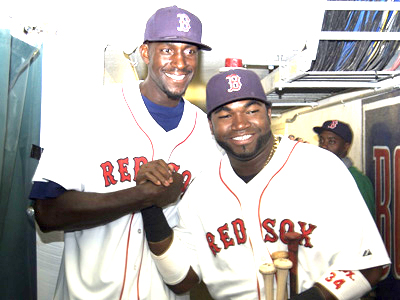 KG & Big Papi holding it down earlier in the year