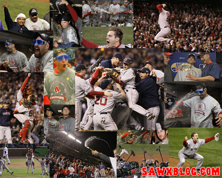 Boston Red Sox 2007 World Series Wallpaper