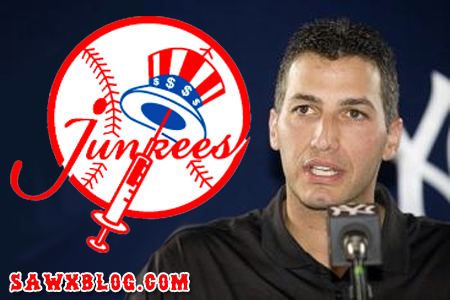 Andy Pettitte apologizing to the media yesterday