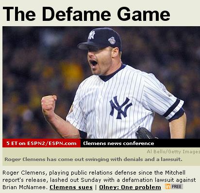Defame Game