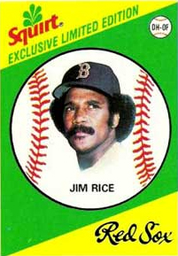 Jim Rice is at least rocking the fro here