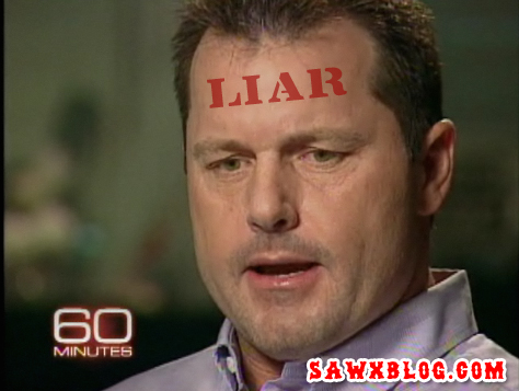 Roger Clemens and his lying ways seem to be catching up to him. (SawxBlog Illustration)