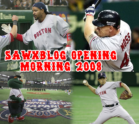 Opening Morning turned out to be a good morning for the Red Sox