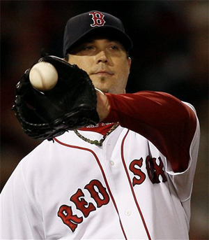 Josh Beckett was not up to his ace status last night